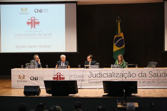 Judicialização é reflexo da estrutura da Saúde, afirma palestrante
