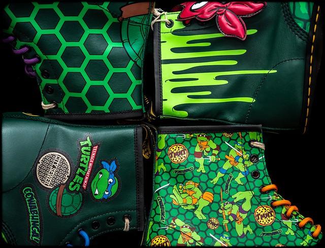 1460 Ninja Turtles, Doc Martens. . .