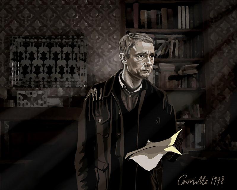 Camillo 1978 John finds Sherlock's letter