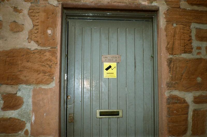Secure door