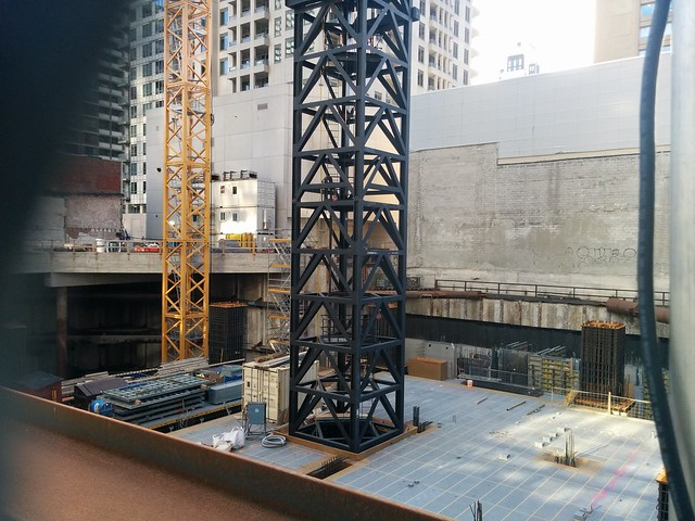 Under The One (2) #toronto #yongeandbloor #stollerys #theone #condos #construction #pit