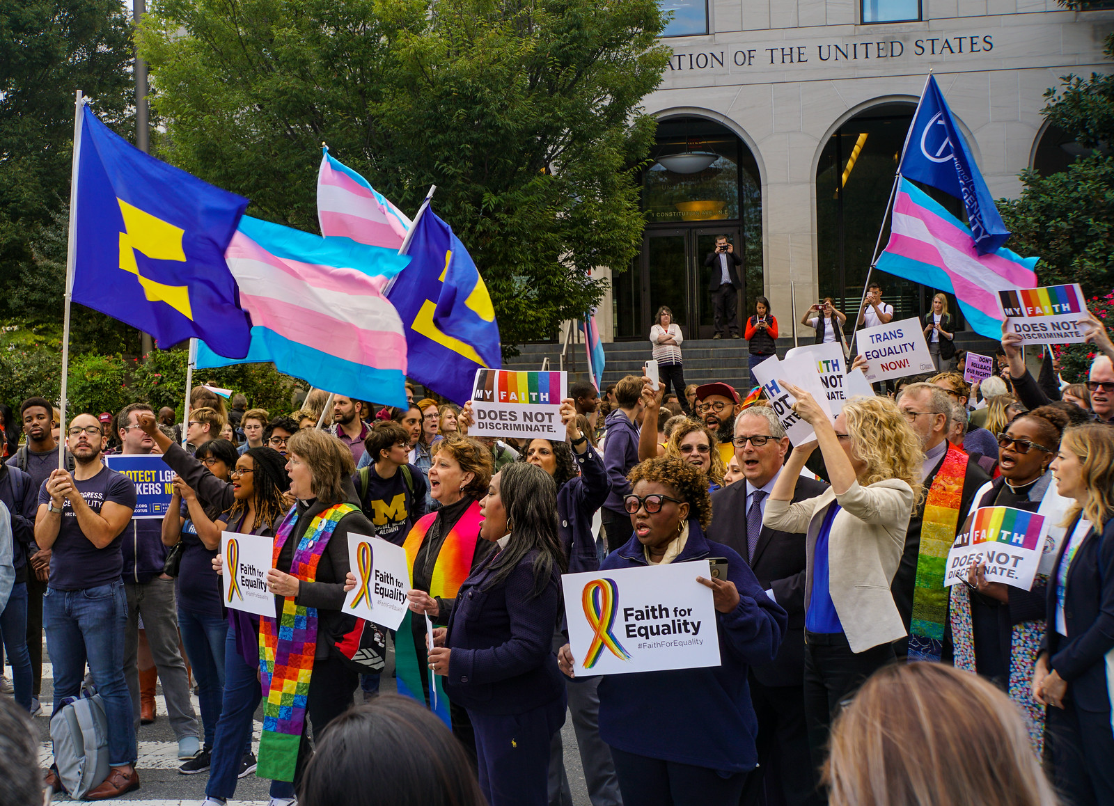 2019.10.08 SCOTUS Protest for LGBTQ Equality, Washington, DC USA 281 24020