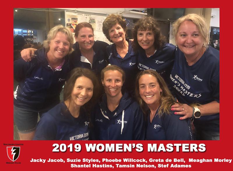 2019 Aus Masters Championships