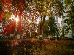 Atardecer Parque Principal Líbano Tolima
