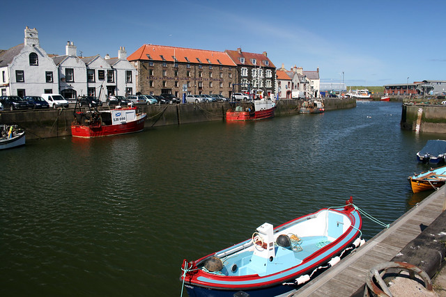 The harbour at Eyemouth