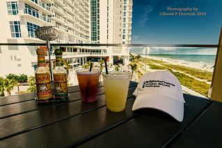 CaptDave's New Hat and Celebratory Drinks at Banditos Cantina - Brand New Ocean Enclave by Hilton Grand Vacations (3194) Myrtle Beach, SC 9-23-2019.