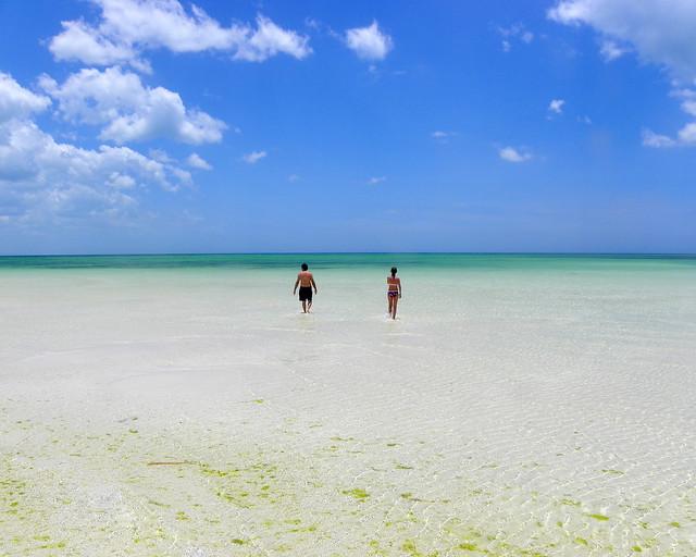 Playa Kuka, uno de los lugares recomendados que ver en Riviera Maya
