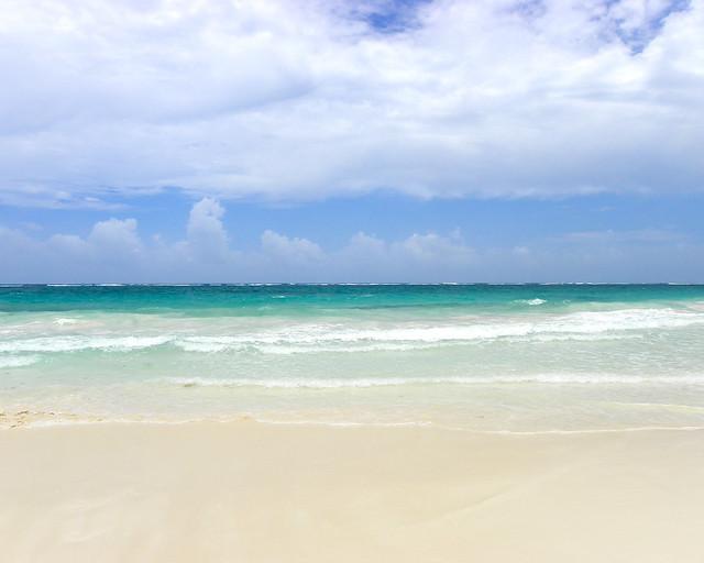 Playa Paraíso, en Riviera Maya, de las playas más bonitas que ver en Riviera Maya
