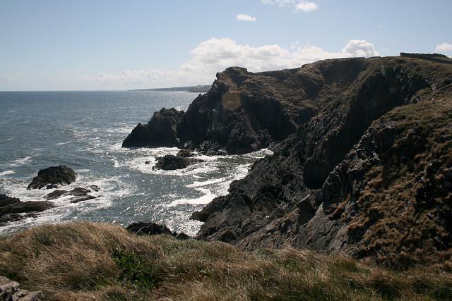 The coast south of Eyemouth
