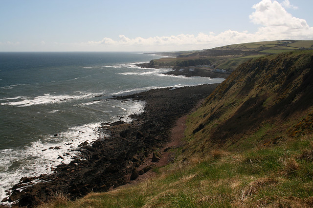 The coast at Burnmouth