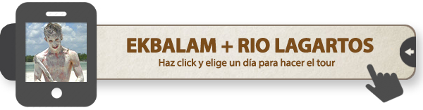 Excursión a Ek Balam y Rio Lagartos