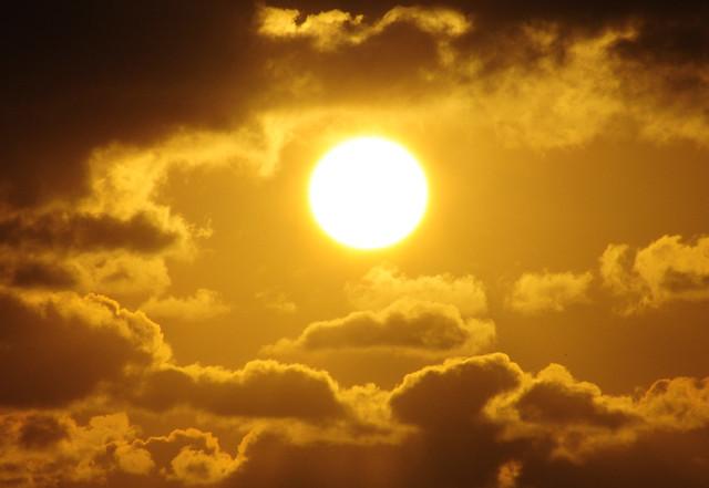Morning Sun no.2 - Texas Coast