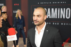 Michael Mando at the El Camino A Breaking Bad Movie Premiere in Westwood - DSC_0098