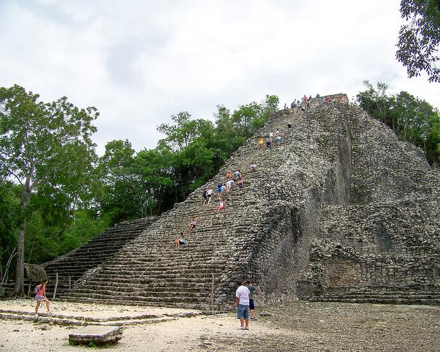 Pirámide de Coba, en Riviera Maya