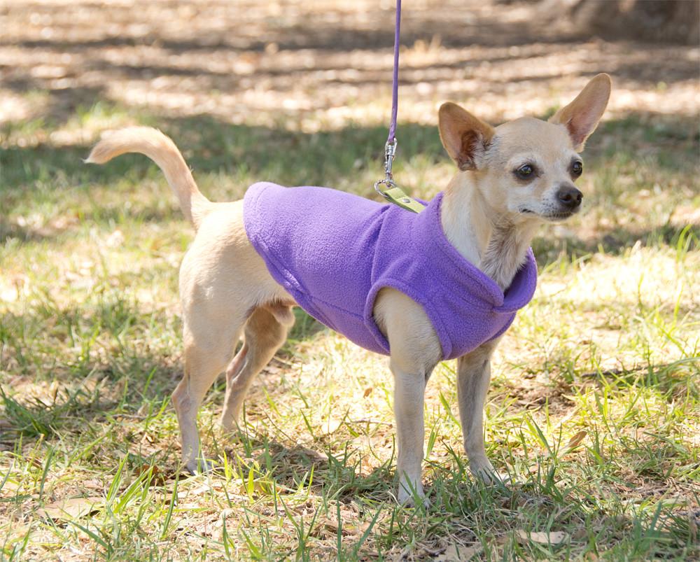 Gooby Fleece Dog Sweater