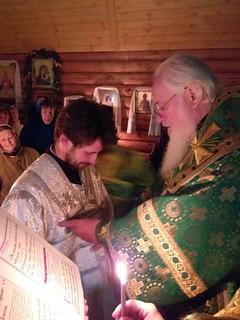 08.10.2019 | Божественная литургия в дер. Большое Уклейно