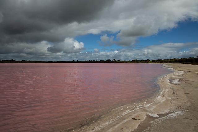 Pink Lake, Victoria.