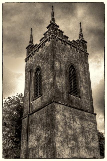 Hill of Tara IR - Saint Patrick's Church 02