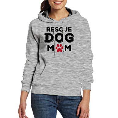 Rescue Dog Mom hoodie