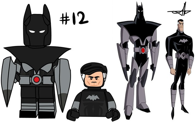 Lego Batman Beyond Minifigure Series