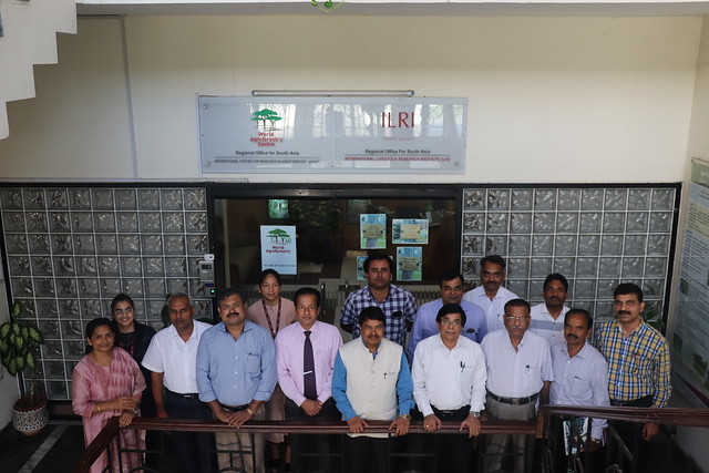 Mid-term review meeting of ICAR - ILRI Collaborative Project on sep 25 2019