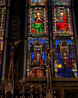 Saints & Apostles on Glass