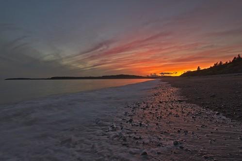 newbrunswick saintjohn fundy irvingnaturepark sunset longexposure afterthesun