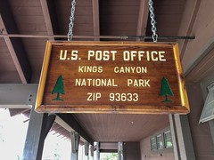 US Post Office Kings Canyon National Park