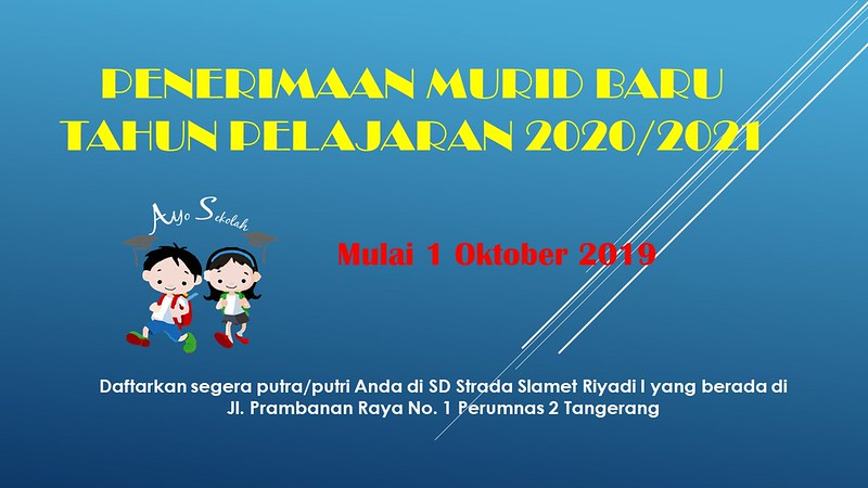 PENERIMAAN MURID BARU 2020/2021