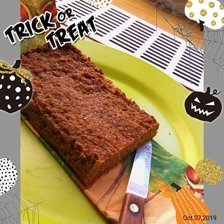 Pumpkin bread 🎃🍁 with maple syrup   Autumn vegan food 🌟🍂   Poisoned or not? 💀
