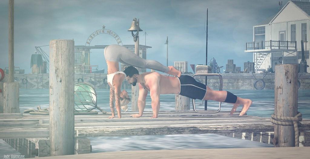 Pivot Yoga Pose MF