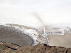 The Dry Salt Lake of Badwater Basin, Death Valley