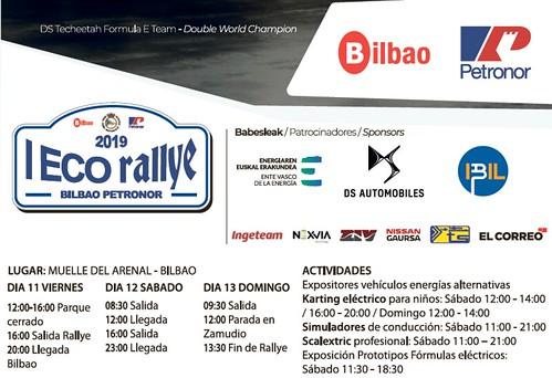 Entradas y crónica de este I ECO Rallye Bilbao Petronor