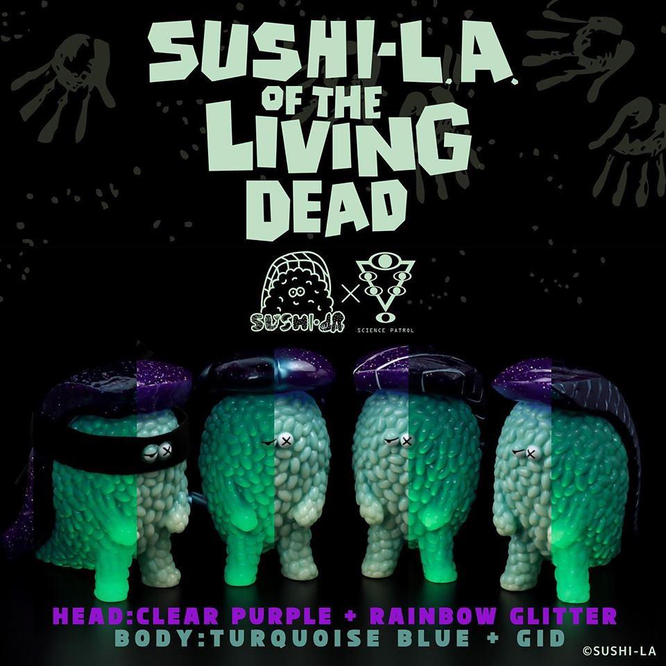 【TTF2019】壽司拉變成殭屍襲來!SUSHI-L.A.× SCIENCE PATROL「SUSHI-L.A. of the Living Dead 夜光版」