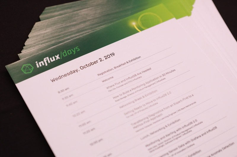InfluxDays SF 2019