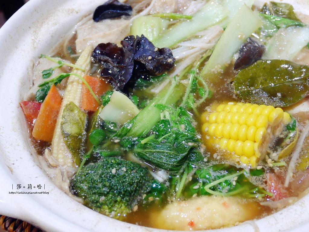 捷運大坪林站新店蔬食餐廳蔬喜素食 台式小吃義大利麵泰國料理火鍋 (1)