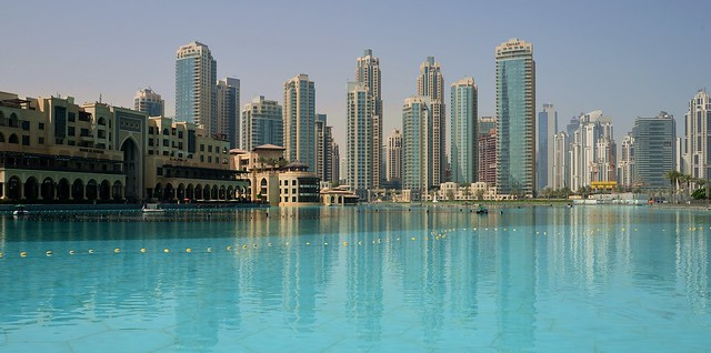 Dubai - Fountain Lake