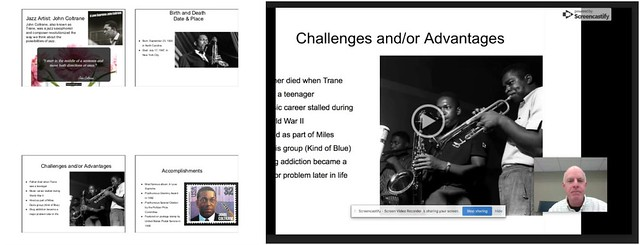 Coltrane Report with Google tools