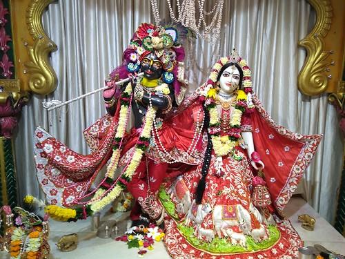 ISKCON Amravati Deity Darshan 09 Oct 2019