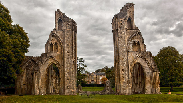 The Ghost of Glastonbury Abbey 1