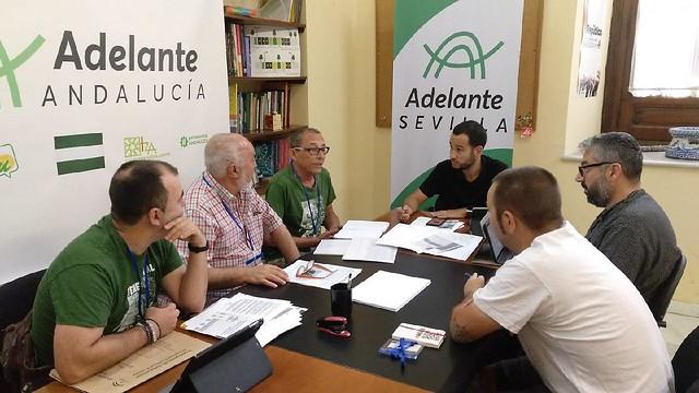 Reunión - Algodonera de Alcosa