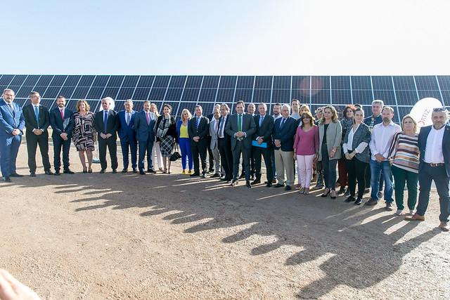 Visita a la planta solar fotovoltaica Alten El Casar