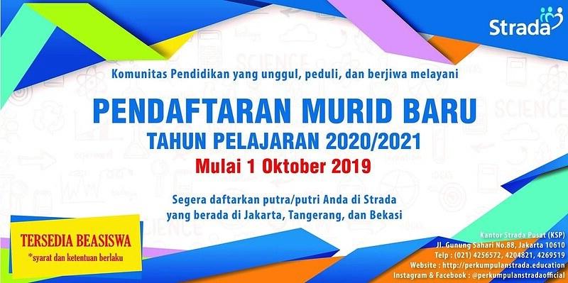 Pendaftaran Murid Baru (PMB) 2020 – 2021