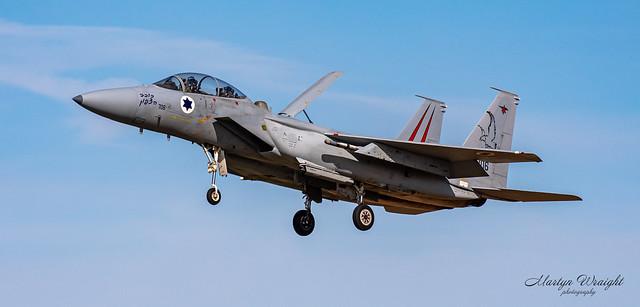 Israeli Air Force F15D Eagle.
