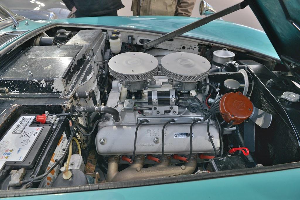 1957 BMW 507 3.2 litres V8 série I Roadster
