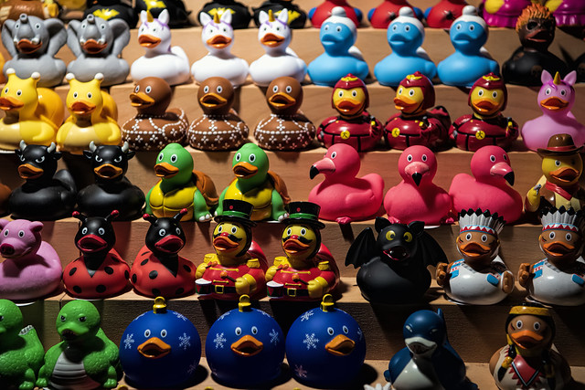 At the Duck Market
