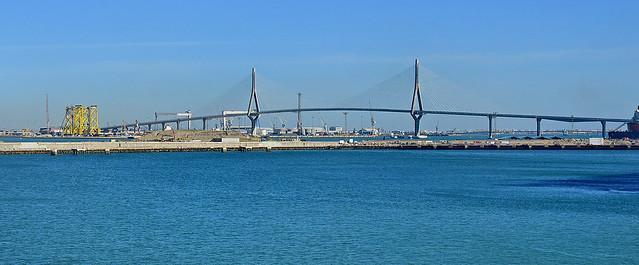 La Constitución de 1812 Bridge, Cádiz - 24 Sep 2019