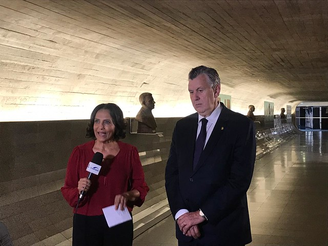 09/10/2019 Entrevista TV Senado (Regularização Fundiária)