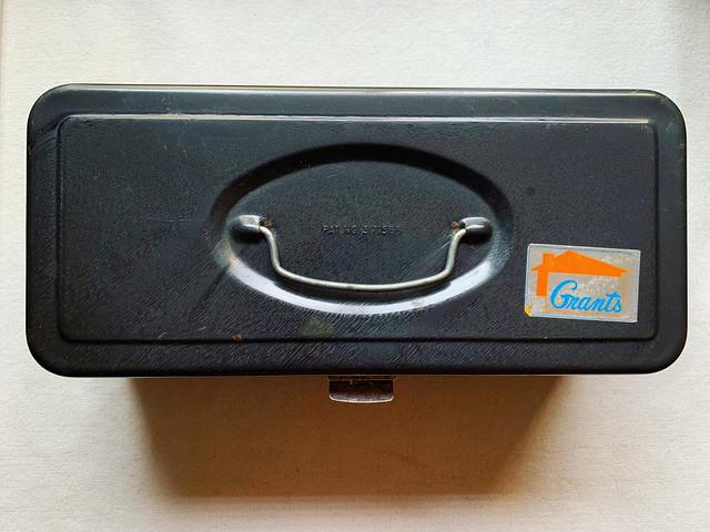 WT Grant Tool Box (1960s)