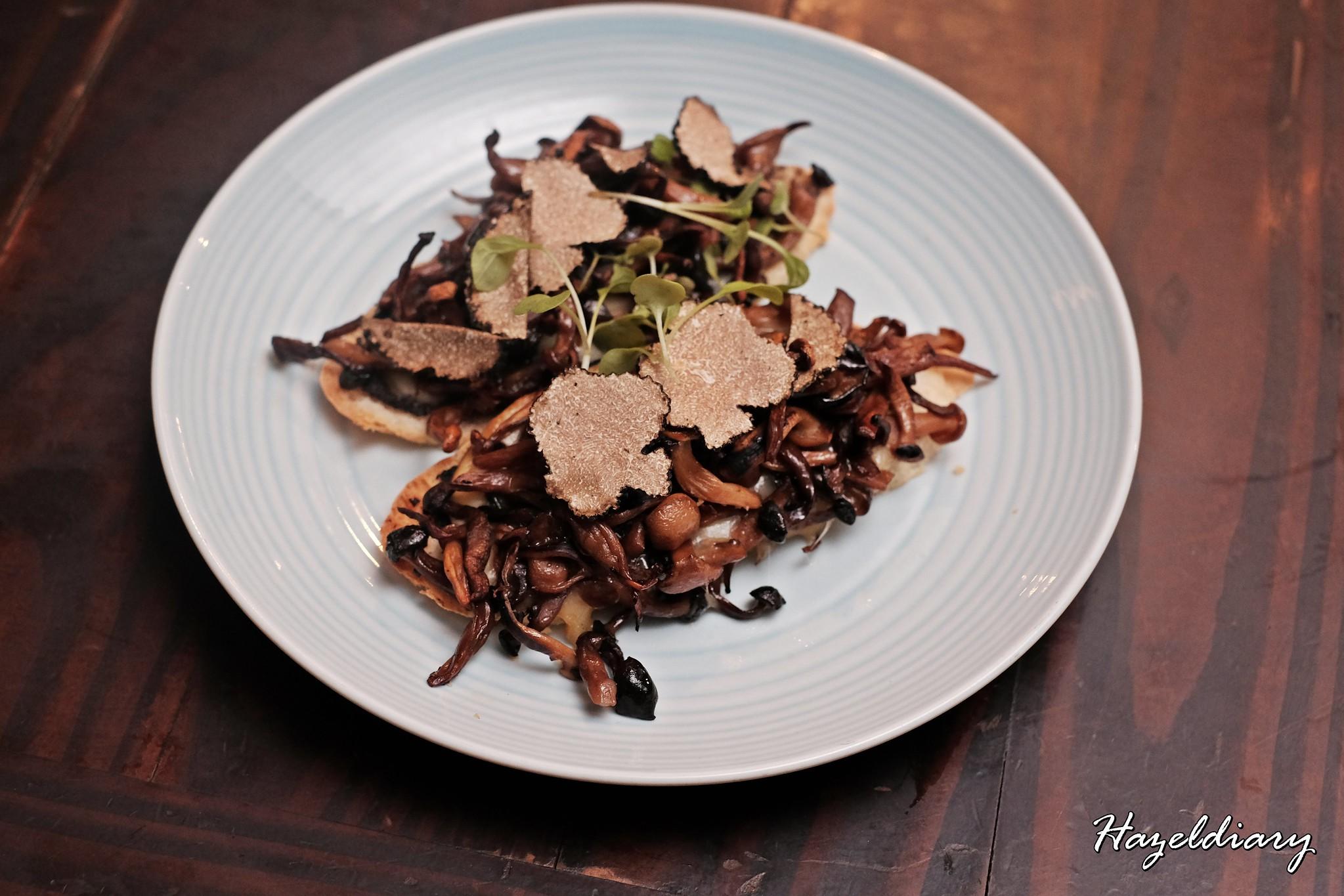 SONS-Mushroom & Truffle Bruschetta